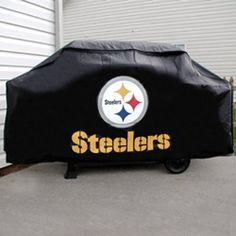 SEE MORE NFL team grill cover at http://zpatiofurniture.com/category/patio-furniture-categories/patio-furniture-covers/patio-bbq-grill-covers/nfl-team-grill-covers/ -  BSS – Pittsburgh Steelers NFL Economy Barbeque Grill Cover « zPatioFurniture.com