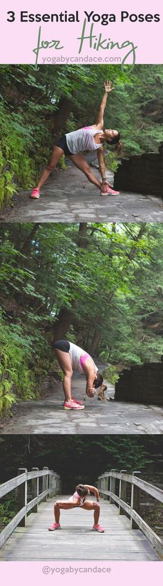 Pin now, practice yoga later - yoga for hiking