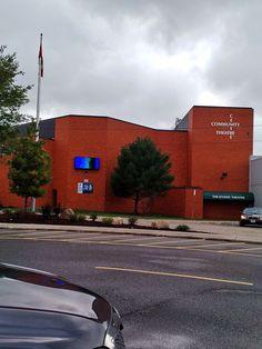 Week 2 In Sault Ste Marie this week. Visiting White Pines Collegiate and Vocational School. Studio Theater, Theatre, White Pines, Sault Ste Marie, Community, School, Theater, Communion