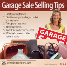 How to host a successful garage sale!
