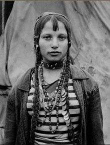 This is from the cover of the book 'Bury me Standing'. Fascinating and heartbreaking account of Romani peoples in Eastern Europe