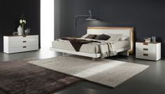 Stylish Design Furniture - Rossetto Libriamo Platform Bed With Led Light, $2,339.00 (http://www.stylishdesignfurniture.com/products/rossetto-libriamo-platform-bed-with-led-light.html/)