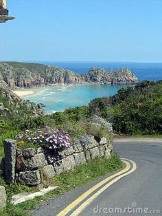 coast road in Cornwall, England Cornwall England, Devon And Cornwall, Yorkshire England, Yorkshire Dales, Cornwall Coast, St Ives Cornwall, Places To Travel, Places To See, England Countryside