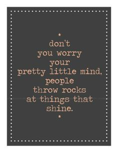 Shine. Love this!!!