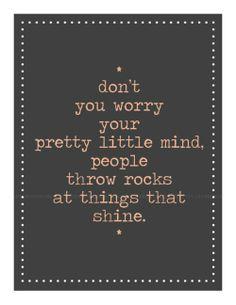Shine. Love this!!!