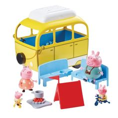 Superb Peppa Pig's Camping Trip Playset Now at Smyths Toys UK. Shop for Peppa Pig At Great Prices. Toys For Girls, Kids Toys, Peppa Pig Holiday, Bussines Ideas, Scooby Doo, Roof Box, Diy Play Kitchen, Rescue Vehicles, Bedroom Decor