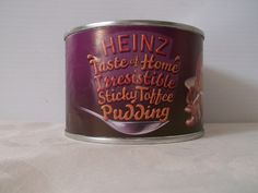 Heinz Sticky Toffee Sponge Pudding – The Wee British Shoppe British Store, Sticky Toffee Pudding, Store Online, Coffee Cans, Canning, Food, Home Canning, Eten, Meals