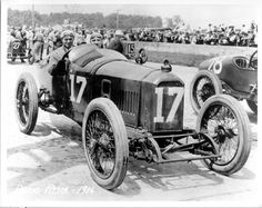 1916 Dario Resta's (#17) Peugeot - Qualified: 4th, Speed (94.400 mph) Finished: 1st, Led 103 of 120 Laps.  The only Indy 500 Scheduled for less than 500 Miles (300 miles)