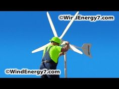 WindEnergy7 Home Wind Turbine Kits, Residential Wind Power Kits