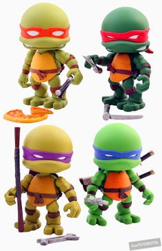 TOYSREVIL: TMNT x The Loyal Subjects Pre-Sale Now On