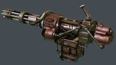 Avenger: IHWT - Improved Heavy Weapons Textures at Fallout New gas - mods and community Fallout Weapons, Fallout Lore, Sci Fi Weapons, Concept Weapons, Armor Concept, Weapons Guns, Big Guns, Cool Guns, Modified Nerf Guns
