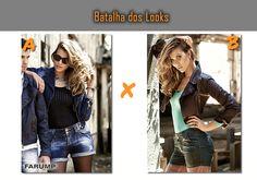 Qual destes looks é o seu favorito? A ou B?