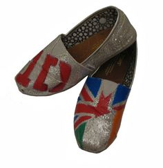 One Direction Inspired TOMS shoes by gcordes55 on Etsy, $70.00