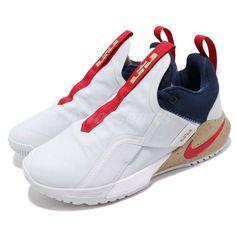 ba5b39dc06 Details about Nike Ambassador XI 11 Lebron James LBJ White Red Gold Navy Men  Shoes AO2920