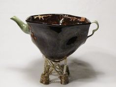 Guns and band aids Invalids cup Teapots, Ceramic Art, Vases, 3 D, Guns, Ceramics, Fantasy, Sculpture, Image