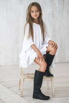 She's been called the 'most beautiful girl in the world', but nine-year-old Kristina Pimenova is polarising critics over her 'supermodel' status.