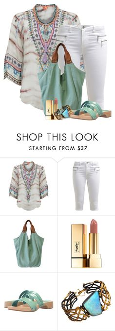 """""""Hale Bob"""" by flowerchild805 ❤ liked on Polyvore featuring Hale Bob, ONLY, Yves Saint Laurent, Calou Stockholm and Judy Geib"""