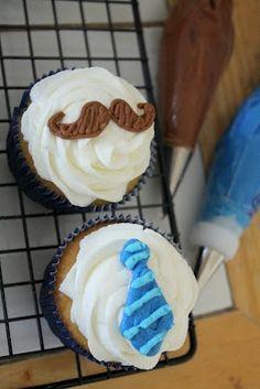 Little Man 1st Birthday - Love the cupcakes