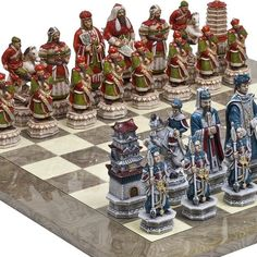 Bello Games CollezioniGreat Wall of China Luxury Chessmen from Italy  Greenwich Street Chess Board Giant Size King 5 34 -- Want to know more, click on the image.