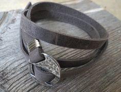 Men's Bracelet  Men's Leather Bracelet  Men's Jewelry by Galismens