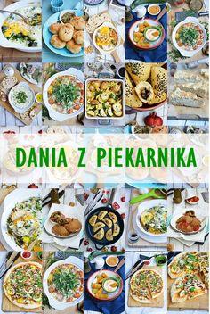 Moja smaczna kuchnia: Dania z piekarnika Polish Recipes, Aga, Ketogenic Diet, Pasta Salad, Lunch Box, Food And Drink, Health Fitness, Healthy Recipes, Baking