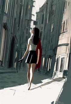 Late Friday night, early Saturday morning by PascalCampion.deviantart.com on @DeviantArt