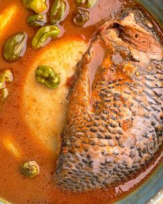 Tilapia Soup Recipe, Seafood Recipes, Soup Recipes, Healthy Dinners For Two, Ghana Food, Jollof Rice, Dinner For Two, What You Eat, Ethnic Recipes