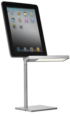 FLOS D E LIGHT by Philippe Starck  A cool LED lamp with charging dock for  ipad  ipod or iphone Handcarved Vintage Lighting   Parks  Vintage and The o jays. The Dapper Llama Menlo Park Lamps. Home Design Ideas