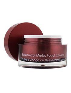 Vine Vera Resveratrol Merlot Facial Exfoliant ** Click for Special Deals #FacialScrubs