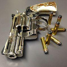 "1974 High Polish Colt 2.5"" Python .357 revolver"