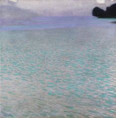 1900  Lake Attersee  Measures: 80,2 x 80,2 cm Technique: Oil on canvas Depository: Leopold Museum, Vienna