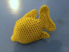 Suvi's Crochet: Sea Life - Yellow Tang