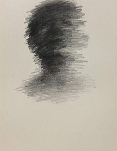 pencil on paper 2013 on Behance Sad Drawings, Dark Art Drawings, Art Drawings Sketches, Crayons Pastel, Abstract Pencil Drawings, Horror Drawing, Scribble Art, Scary Art, Arte Sketchbook