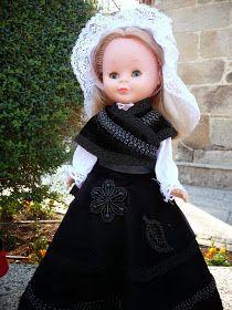 Tengo una muñeca vestida de azul: Nancy de gallega II Girls Dresses, Flower Girl Dresses, Victorian, Costumes, Wedding Dresses, Nostalgia, Fashion, Dolls, Nancy Doll