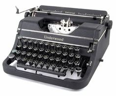 Underwood Universal/Champion Portable of 1938 in Matte