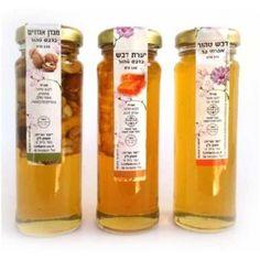 Rosh hashanah Honey Gift - Jewish Honey - Israel Honey - ahuva Judaica