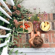 There are so many small lessons that children can learn from gardening- the importance of patience, the process of growth, the labor of cultivating and weeding, the joy of harvest. Cute Kids, Cute Babies, Baby Kids, Little People, Little Ones, Slow Living, Family Goals, Farm Life, Baby Fever