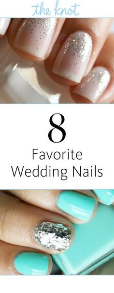 8 Favorite Wedding Nails | https://www.theknot.com/content/favorite-wedding-nails-pinterest