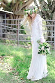 Mt. Tambourine Boho_Luxe Wedding – Part 1 » BWED Photography  Grace Loves Lace Wedding Dress Willow Monet $1210
