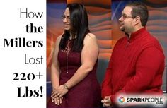 THATS ME! Watch: How Dave and Julie Lost 220 Pounds via @SparkPeople
