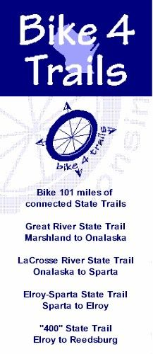 Have you been on the Bike4Trails yet this summer? There is still plenty of time to get your biking fix in for the summer!