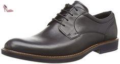Ecco  ECCO BIARRITZ, Derbies à lacets hommes - Noir - Noir, 46 EU - Chaussures ecco (*Partner-Link)