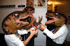 Totally host a Raptor party, man.  ~~ Houston Foodlovers Book Club