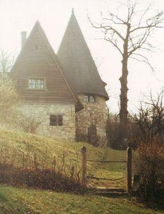 Casas de contos de fadas na vida real