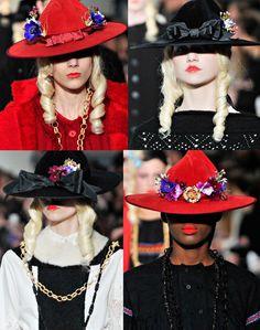 London Fashion Week Meadham Kirchoff AW 2011