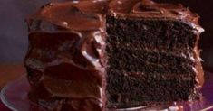 This 1927 Chocolate Cake Recipe Has Been Passed Down From Grandma. We've Found Chocolate Nirvana