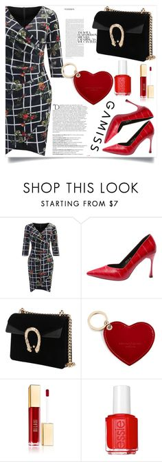 """""""Bodycon Dress"""" by zenabezimena ❤ liked on Polyvore featuring Balmain, Aspinal of London and Essie"""