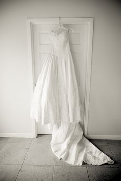 My Wedding dress, Alfred Angelo Ballgown Scalloped Edging and Lace.  Sweetheart neckline