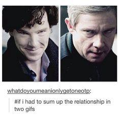Sherlock & John in one picture