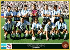 Fan pictures - 1994 FIFA World Cup United States. Argentina Football Team, Argentina Team, Argentina National Team, World Cup Teams, Fifa World Cup, Fan Picture, Vintage Football, Soccer, United States